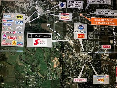 Richmond Residential Lots & Land For Sale: Bellaire Blvd At Mason Rd