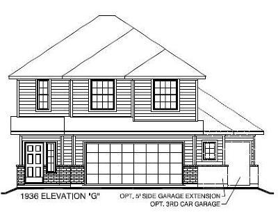 Single Family Home For Sale: 10327 Spruce Villa Trace