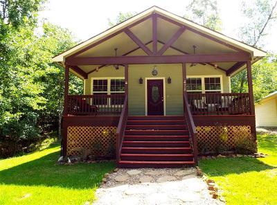 San Jacinto County Single Family Home For Sale: 288 S Pine Harbour Drive
