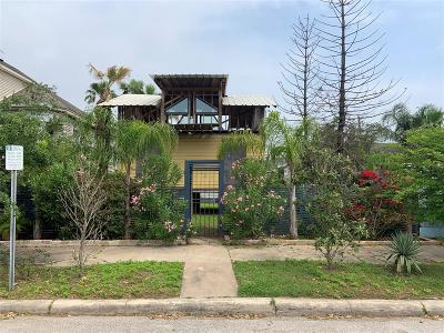 Galveston Single Family Home For Sale: 808 Sealy Street