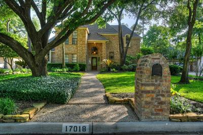 Spring Single Family Home For Sale: 17018 Misty Creek Drive