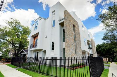 Houston Condo/Townhouse Option Pending: 2016 Indiana Street