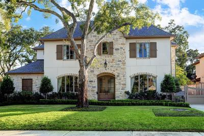 Houston Single Family Home For Sale: 5625 Overbrook Lane