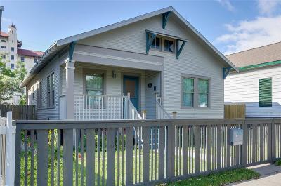 Single Family Home For Sale: 2015 Avenue O 1/2