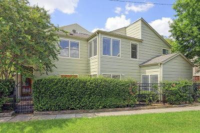 Houston Condo/Townhouse For Sale: 6310 Arnot Street