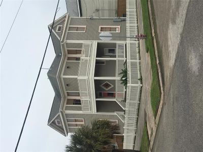 Galveston Single Family Home For Sale: 2127 Avenue O 1/2