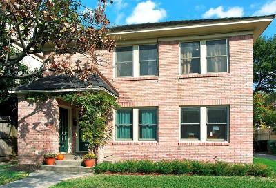 Houston Multi Family Home For Sale: 1803 McDuffie Street