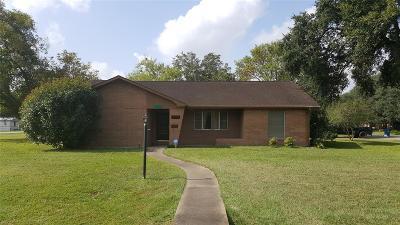 Rosenberg Single Family Home For Sale: 2804 Houston Street