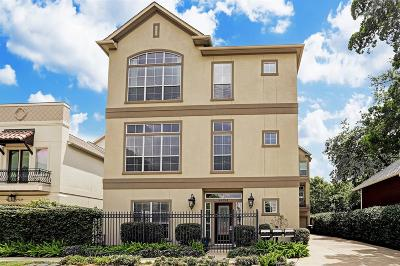 Houston Condo/Townhouse For Sale: 4415 Rose Street #A