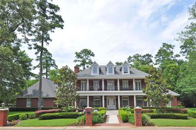 Kingwood Single Family Home For Sale: 1 Magnolia Woods Drive