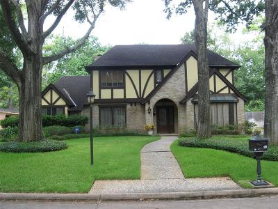 Houston Single Family Home For Sale: 823 Soboda Ct Court
