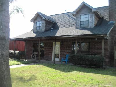 Brazoria Single Family Home For Sale: 17447 County Road 945d