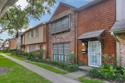Houston Condo/Townhouse For Sale: 2254 Shadowdale Drive #363