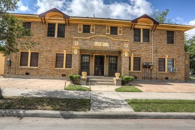 Houston Single Family Home For Sale: 1050 Heights Boulevard