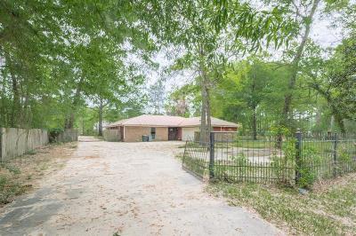 Conroe Single Family Home For Sale: 15336 Cardinal Trail
