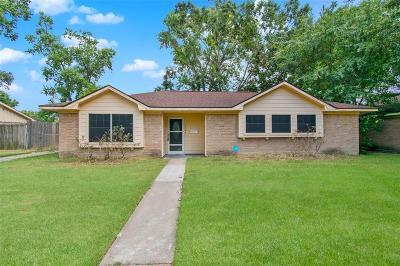 Houston TX Single Family Home For Sale: $209,000