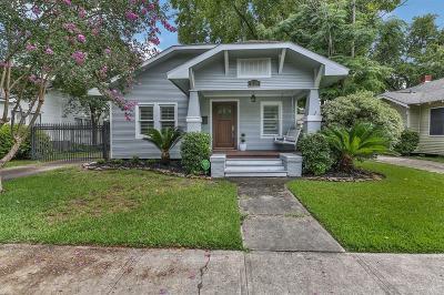 Houston Single Family Home For Sale: 1120 Winston Street