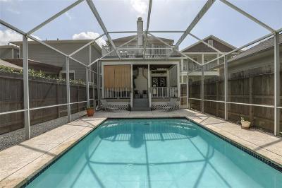 Houston Single Family Home For Sale: 837 Ashland Street