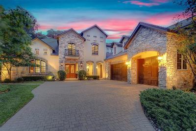 The Woodlands Single Family Home For Sale: 50 E Ambassador Bend