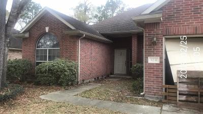 Spring Single Family Home For Sale: 5231 Sherilynn Drive
