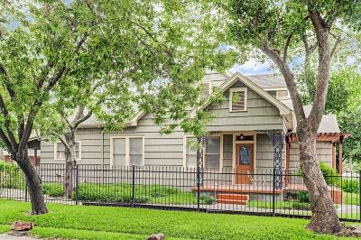 Greater Heights Single Family Home For Sale: 2536 White Oak