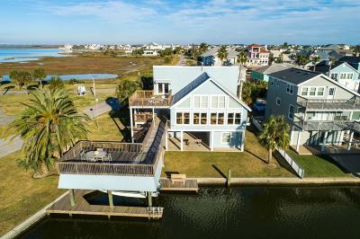 Galveston Single Family Home For Sale: 3401 Jolly Roger Circle