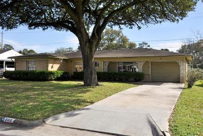 Houston Single Family Home For Sale: 300 Woodard Street