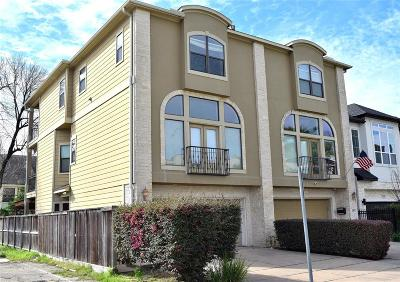 Conroe, Houston, Montgomery, Pearland, Spring, The Woodlands, Willis Condo/Townhouse For Sale: 4911 Rose Street