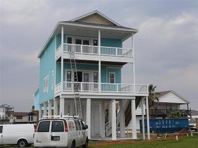 Galveston Single Family Home For Sale: 23016 Buena