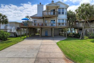 Galveston Single Family Home For Sale: 4115 Buccaneer