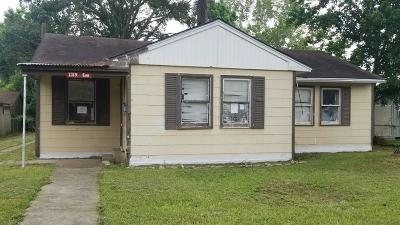 Liberty Single Family Home For Sale: 1319 Cos Street