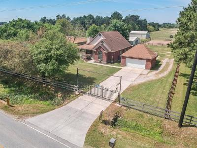 Tomball Country Home/Acreage For Sale: 1850 S Cherry Street