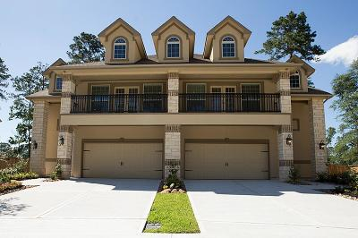 Conroe Condo/Townhouse For Sale: 144 Skybranch Drive