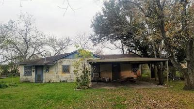 Edna TX Single Family Home For Sale: $45,000