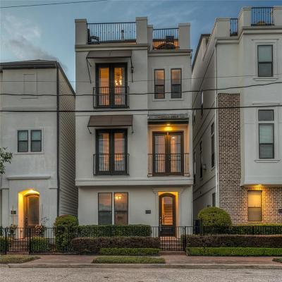 Houston Single Family Home For Sale: 1728 Dart Street