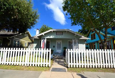 Houston Single Family Home For Sale: 2608 Morrison Street