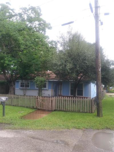 Kemah Single Family Home For Sale: 2735 Oak Road
