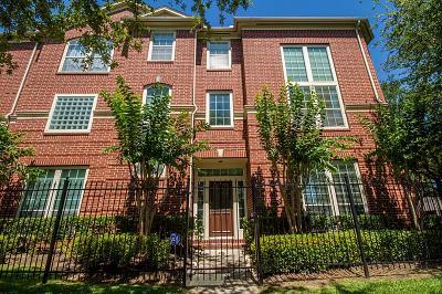 Houston Condo/Townhouse For Sale: 422 McGowen Street