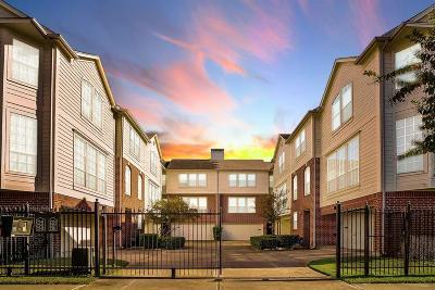 Houston Condo/Townhouse For Sale: 2353 Jackson Street