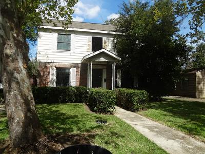 Houston Single Family Home For Sale: 3313 Tampa