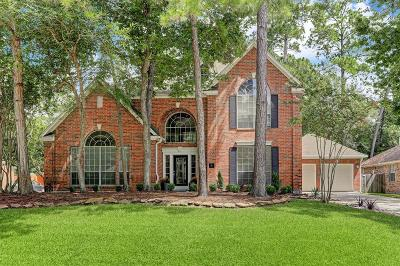 The Woodlands Single Family Home For Sale: 6 Journeys End
