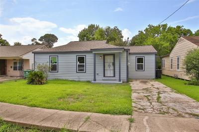 Houston Single Family Home For Sale: 6616 Conley Street