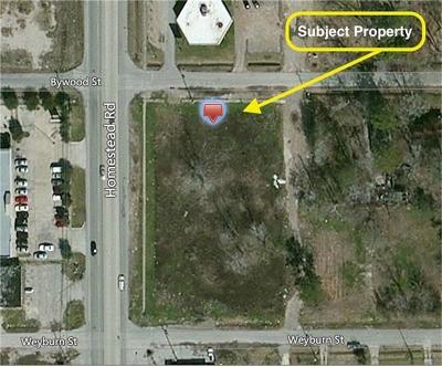 Houston Residential Lots & Land For Sale: 8214 Homestead Road