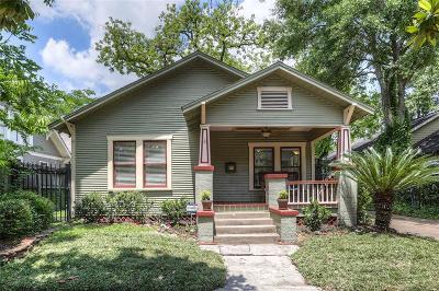 Houston TX Single Family Home For Sale: $549,900