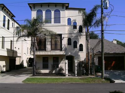 Houston TX Single Family Home For Sale: $405,600