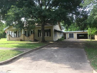 Weimar Single Family Home For Sale: 204 W Market Street