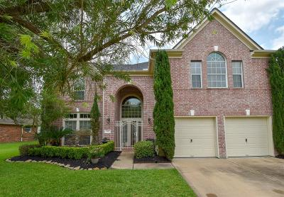 Katy Single Family Home Option Pending: 2415 Blue Water Bay Drive
