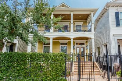 Houston Single Family Home For Sale: 1020 Nicholson Street