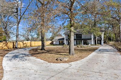 New Waverly Single Family Home For Sale: 18022 Rogers Road