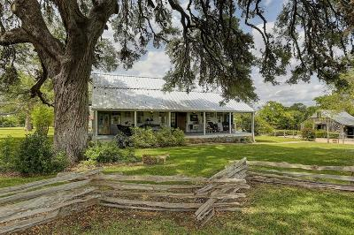 Fayette County Farm & Ranch For Sale: 2218 Hartfield Road